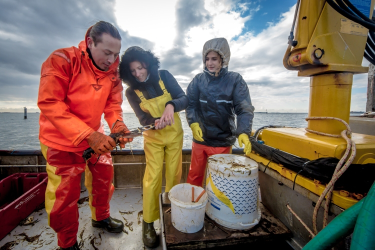 30 april 2015 De-Etage Kreeften vissen-0192