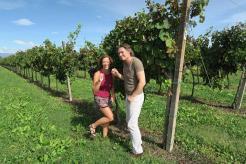 Fun at the vineyard met wijnleverancier Daan